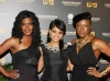 Tangi Miller, Erica Hubbard and guest