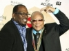 Randy Jackson and Quincy Jones