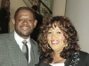 Forest Whitaker and Kym Whitley