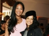 Kimmora Lee Simmons and Victoria Rowell