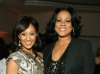 Tamera Mowry and Lela Rochon