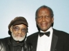 Melvin Van Peebles and Sidney Poitier