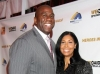 Magic Johnson & wife Cookie