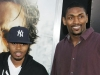 Rapper Nas and NBA player Ron Artest