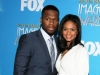 50 Cent and Kimberly Elise at the 42nd NCAAP Image Awards