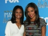 Sanaa Lathan and Kimberly Elise at the 42nd NCAAP Image Awards