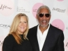 Lori McCreary and Morgan Freeman