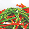 FOOD FOR THE SOUL: Spicy Sautéed Red Pepper Green Beans