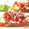 FOOD FOR THE SOUL: Basil and Vegan Cream Cheese Bruschetta