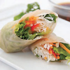 FOOD FOR THE SOUL: Thai Basil Spring Rolls