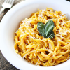 FOOD FOR THE SOUL: Creamy Butternut Squash Linguine