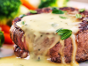 FOOD FOR THE SOUL: Organic Grass-fed Filet Mignon w/ Creamy Peppercorn Sauce