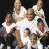 Team Hammond includes Brian, 34; Nicole, 30; Charles, 6; Taylor, 6; Jordanne, 5; Meganne, 3; and Blake, 11 months.