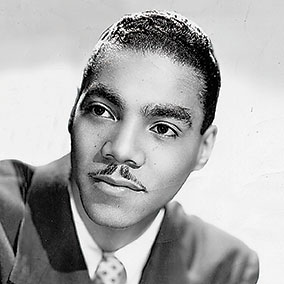"Entertainer/Host Dr. William H. ""Bob"" Bailey while with the Count Basie Orchestra in the mid 1940s."