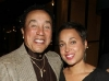 Smokey Robinson and Gena Gatewood