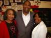 Dr. Sandra Mack, Rev Harvey Vaughn, Pearl Mitchell