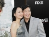 Ken Jeong (R) and wife Tran Ho