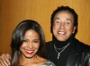 Sanaa Lathan and Smokey Robinson at the 42nd NCAAP Image Awards