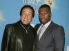 Smokey Robinson and 50 Cent at the 42nd NCAAP Image Awards