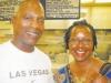 Pastor Ronald Banks and Regina Houston.