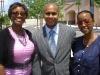 Beverly Burton, Kevin Boyd andTawanna Boyd