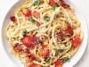 FOOD FOR THE SOUL: Organic Tomato Bacon Linguini