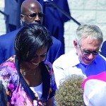 Michelle Obama and Harry Reid